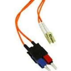 C2G-30m LC-SC 50/125 OM2 Duplex Multimode PVC Fiber Optic Cable - Orange - Fiber Optic for Network Device - LC Male - SC Male - 50/125 - Duplex Multimode - OM2 - 30m - Orange
