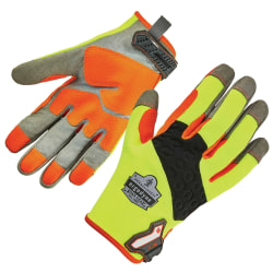 Ergodyne ProFlex 710 Heavy-Duty Utility Gloves, Medium, Lime