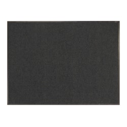 Office Depot® Brand Tough Rib Floor Mat, 3' x 4', Charcoal