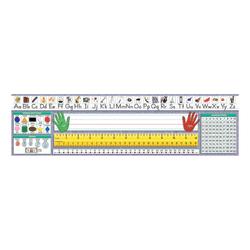 "North Star Teacher Resources Primary Desk Plates, 19"" x 5"", Traditional Manuscript, Pre-K - Grade 8, 36 Plates Per Pack, Set Of 3 Packs"