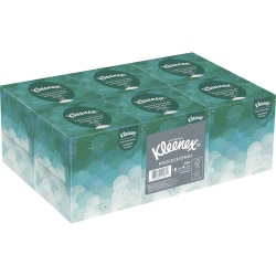 Kleenex® 2-Ply Facial Tissue, Boutique Box, 95 Tissues Per Box, Pack Of 6 Boxes