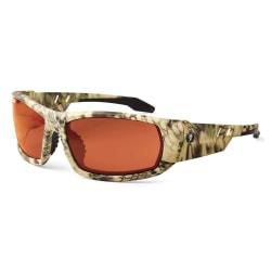 Ergodyne Skullerz® Safety Glasses, Odin, Kryptek Highlander Frame, Copper Lens