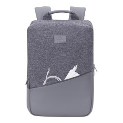 """RIVACASE Egmont 7960 Backpack For 15.6"""" MacBook Pro Laptops, Gray"""
