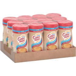 Coffee mate Powdered Coffee Creamer, Gluten-Free - Original Lite Flavor - 0.69 lb (11 oz) - 12/CartonCanister - 1860 Serving