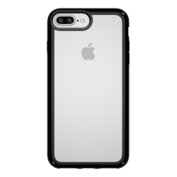 Speck® Presidio™ SHOW Case For Apple® iPhone® 8 Plus, Clear Black