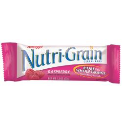 Kellogg's® Nutri-Grain Bars, Raspberry, 1.3 Oz, Box Of 16