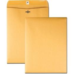 "Business Source Heavy-duty Clasp Envelopes - Clasp - #63 - 6 1/2"" Width x 9 1/2"" Length - 28 lb - Clasp - Kraft - 100 / Box - Kraft"