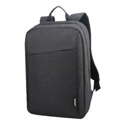 "Lenovo® Casual B210 Backpack With 15.6"" Laptop Pocket, Black"