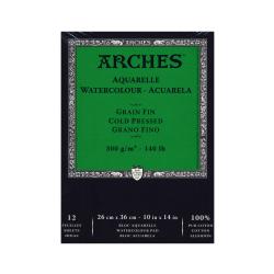 """Arches® Watercolor Pad, 10"""" x 14"""", Cold-Pressed, 140 Lb, White"""