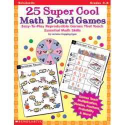 Scholastic Math Board Games