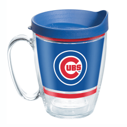 Tervis MLB Legend Coffee Mug With Lid, 16 Oz, Chicago Cubs