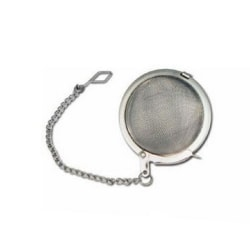 Winco Stainless Steel Tea Infuser Ball With Chain, 2""
