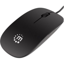 Manhattan Products Genuine Silhouette Optical Mouse Black