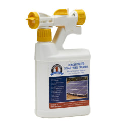 Bare Ground Solutions 1 Shot Concentrated Solar Panel Cleaner, 32 Oz