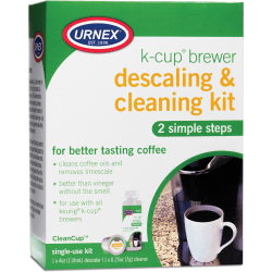 Urnex Urnex K-Cup Brewer Cleaning Kit - For Coffee Brewer - 1 Kit - White