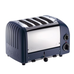 Dualit® NewGen Extra-Wide-Slot Toaster, 4-Slice, Lavender Blue
