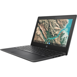 "HP Chromebook 11.6"" Chromebook - HD - 1366 x 768 - Celeron N4020 1.10 GHz Dual-core (2 Core) - 4 GB RAM - 32 GB Flash Memory - Chrome OS - Intel UHD Graphics 600 - English Keyboard - 13.50 Hour Battery Run Time"