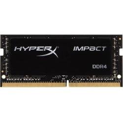 HyperX Impact - DDR4 - module - 32 GB - SO-DIMM 260-pin - 2933 MHz / PC4-23400 - CL17 - 1.2 V - unbuffered - non-ECC