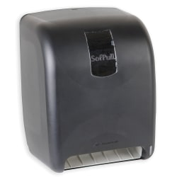 Georgia-Pacific SofPull® High-Capacity Automated Roll Towel Dispenser, Black