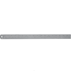 "Staedtler® Stainless Steel Ruler, 18"""