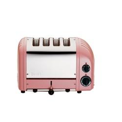 Dualit NewGen Extra-Wide Slot Toaster, 4-Slice, Petal Pink