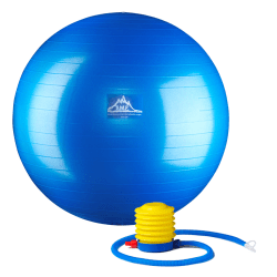 Black Mountain Products Pro Series Stability Ball, 65 cm, Blue