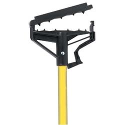 """Wilen Load 'N Lock™ Wet Mop Handle, 60"""", Yellow"""