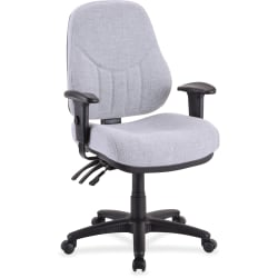 Lorell® Baily Series High-Back Multi-Task Chair, Gray