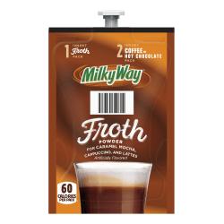 Milky Way Froth Single-Serve Freshpacks, 0.42 Oz, Pack Of 72 Freshpacks