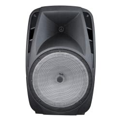 """iLive Tailgate LED Bluetooth® Speaker, 26.8""""H x 13.8""""W x 17.3""""D, Black, ISB718B"""
