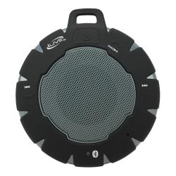 """iLive ISBW157 Bluetooth® Speaker, 3.9""""H x 1.2""""W x 3.7""""D, Black/Gray, ISBW157B"""