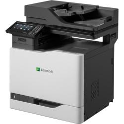 Lexmark CX820 CX820de Laser Multifunction Printer - Color - Copier/Fax/Printer/Scanner - 52 ppm Mono/52 ppm Color Print - 2400 x 600 dpi Print - Automatic Duplex Print - Upto 200000 Pages Monthly - 650 sheets Input