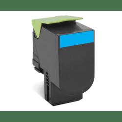 Lexmark™ 70C1HC0 High-Yield Cyan Toner Cartridge