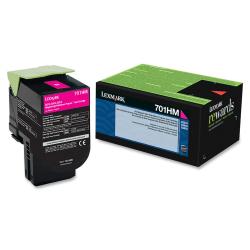 Lexmark™ 70C1HM0 High-Yield Magenta Toner Cartridge