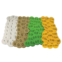 Sensational Math™ 4-Value Decimals To Whole Numbers Place Value Discs, Grade 3 - 5, Pack Of 1,200 Discs