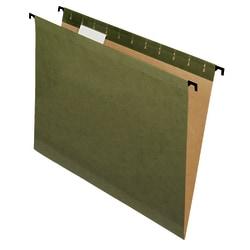 Pendaflex® SureHook™ Reinforced Hanging File Folders, Letter Size, Green, Box Of 10 Folders