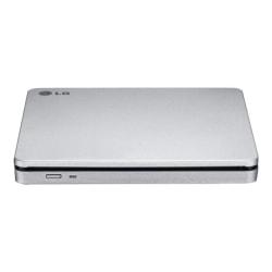 LG GP70NS50 Portable DVD-Writer - DVD-RAM/±R/±RW Support - 24x CD Read/24x CD Write/24x CD Rewrite - 8x DVD Read/8x DVD Write/8x DVD Rewrite - Double-layer Media Supported - USB 2.0 - SATA