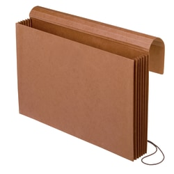 Pendaflex® Extra-Wide Expanding Wallets, Legal Size, Brown, Pack Of 10 Wallets