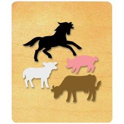 Ellison® Prestige® SureCut™ Die, Large, Farm Animals