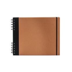 """Cachet Studio Sketchbook, 10"""" x 8"""", 65 Pages, Pumpkin"""