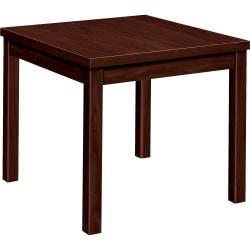 HON® Occasional Corner Table, Mahogany