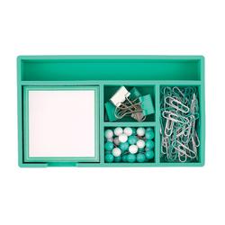 """Office Depot® Brand Desk Set, 7"""" x 4"""", Mint"""