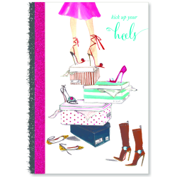 "Viabella Birthday Greeting Card With Envelope, Kick Up Your Heels, 5"" x 7"""