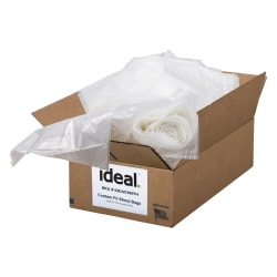 """ideal. Shredder Bags, For Model 2245/2265/2270, 7 Gallons, 24"""" x 23-1/2"""", Pack Of 180"""