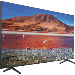 "Samsung Crystal TU7000 UN55TU7000F 54.6"" Smart LED-LCD TV - 4K UHDTV - Titan Gray, Black - LED Backlight - Alexa, Google Assistant Supported - TV Plus - Tizen - Dolby Audio"