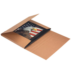 "Office Depot® Brand Jumbo Easy Fold Mailers, 48"" x 36"" x 3"", Kraft, Pack Of 20"