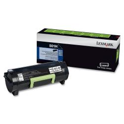 Lexmark™ 50F1H00 Return Program High-Yield Black Toner Cartridge