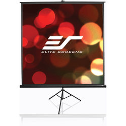 Elite Screens Tripod Series - 100-INCH 16:9, Portable Pull Up Home Movie/ Theater/ Office Projector Screen, 8K / ULTRA HD, 2-YEAR WARRANTY, T100UWH""