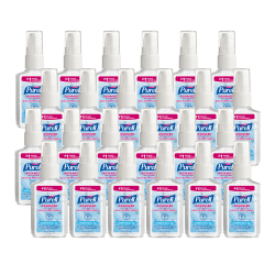 Purell® Instant Hand Sanitizer, 2 Oz. Pump Bottles, Carton Of 24