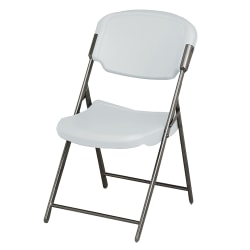 Iceberg Rough 'n' Ready Folding Chair, Platinum